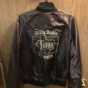 Vintage Billy Bobs brown bomber